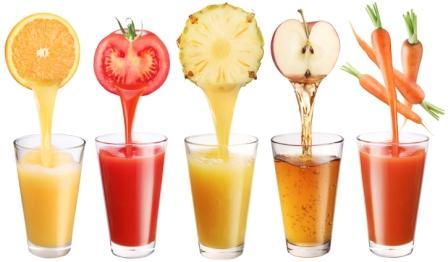 Un bon jus de légumes frais après le massage ?