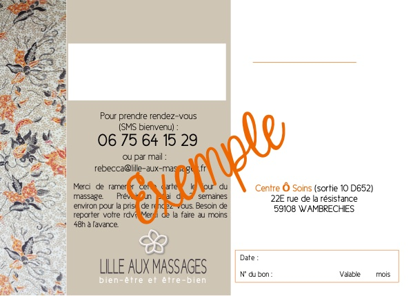 carte cadeau massage balinais
