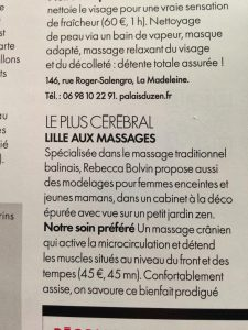 article lille aux massages ELLE